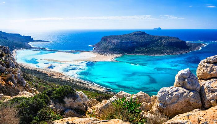 Waar is het warm in oktober - Griekenland