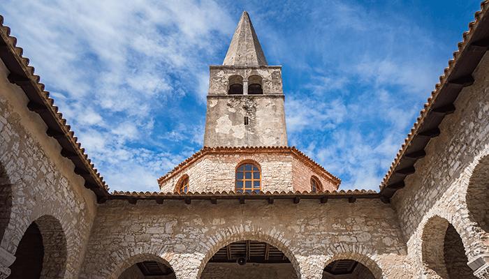 Bezienswaardigheden Istrie - Euphrasius Basiliek