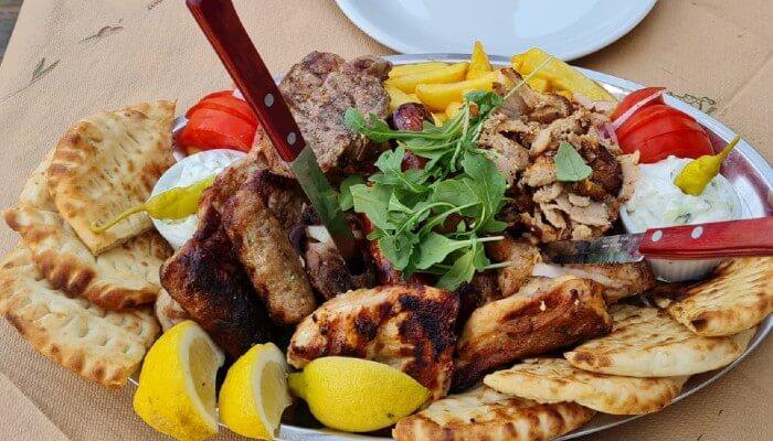 Mixed Grill - Griekse keuken